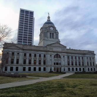 The Allen County Courthouse in Fort Wayne.