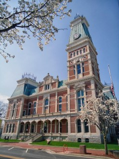 The Bartholomew County Courthouse in Columbus.
