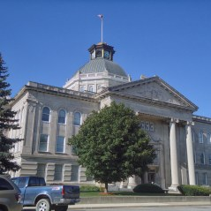 The Boone County Courthouse in Lebanon.