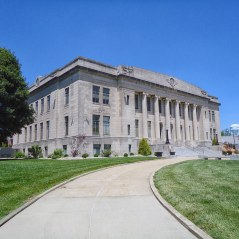 The DaviessCounty Courthouse in Washington.