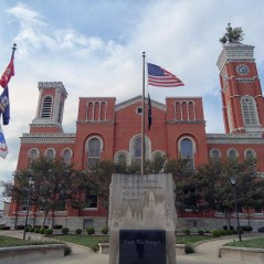 The Decatur County Courthouse in Greensburg.