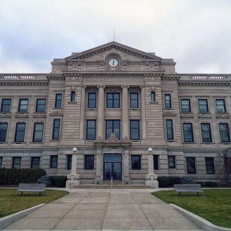 The DeKalb County Courthouse in Auburn.