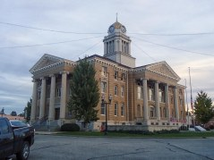 The DuBois County Courthouse in Jasper.