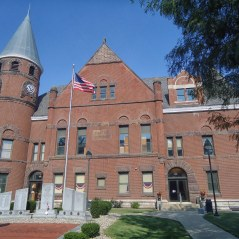 The Fayette County Courthouse in Connersville.