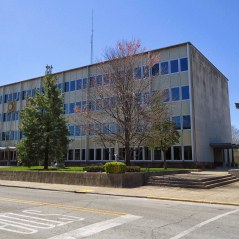 The Floyd County Courthouse in New Albany.