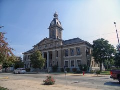 The Franklin County Courthouse in Brookville.