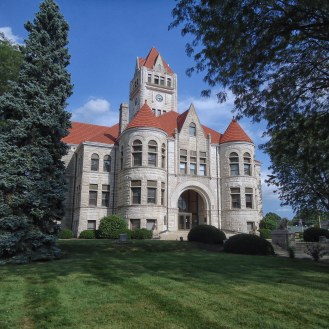 The Fulton County Courthouse in Rochester.