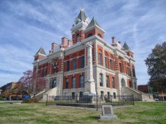 The Gibson County Courthouse in Princeton.