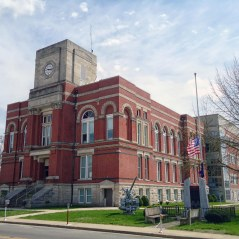 The Greene County Courthouse in Bloomfield.