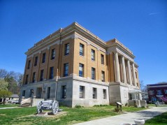 The Harrison County Courthouse in Corydon.