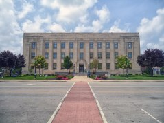 The Howard County Courthouse in Kokomo.