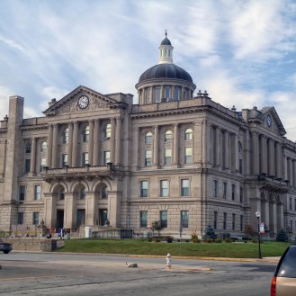 The Huntington County Courthouse in Huntington.