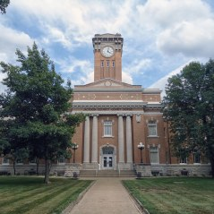 The Jackson County Courthouse in Brownstown.