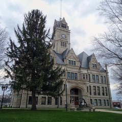 The Jasper County Courthouse in Rennselaer.