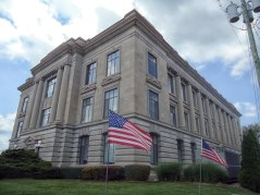 The Jay County Courthouse in Portland.