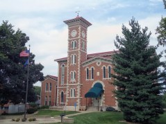 The Jennings County Courthouse in Vernon.