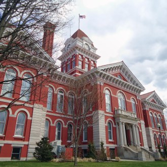 The former Lake County Courthouse in Crown Point.