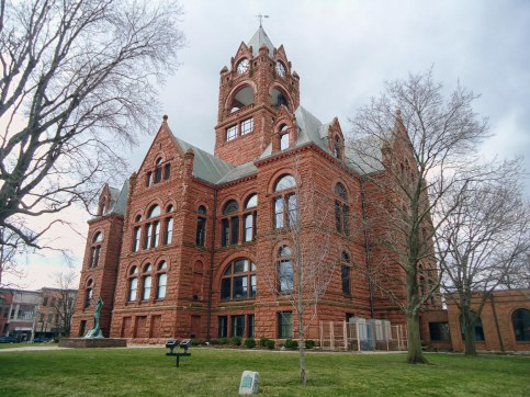 The LaPorte County Courthouse in LaPorte.