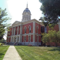 The Marshall County Courthouse in Plymouth.