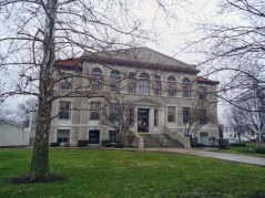 The Newton County Courthouse in Kentland.