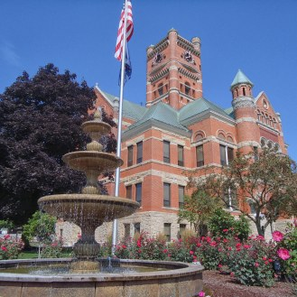The Noble County Courthouse in Albion.