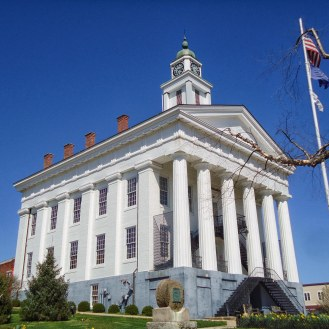 The Orange County Courthouse in Paoli.