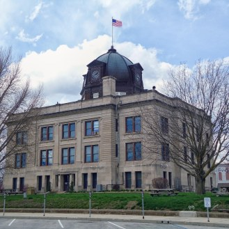 The Owen County Courthouse in Spencer.