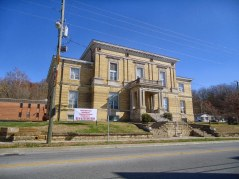 The former Perry County Courthouse in Cannelton.