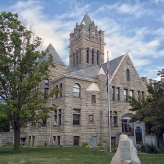 The Pulaski County Courthouse in Winamac.