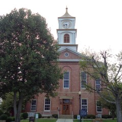 The Ripley County Courthouse in Versailles.