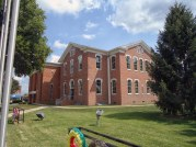 The Scott County Courthouse in Scottsburg.
