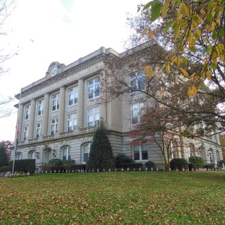 The Spencer County Courthouse in Rockport.
