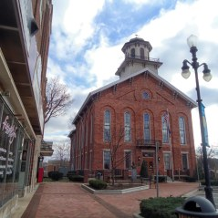 The Steuben County Courthouse in Angola.