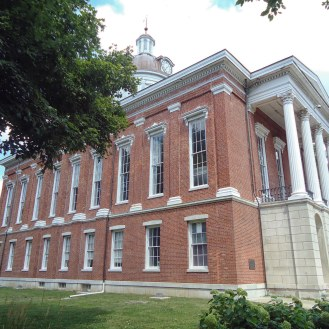 The Switzerland County Courthouse in Liberty.