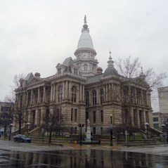 The Tippecanoe County Courthouse in Lafayette.