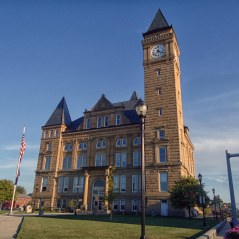 The Tipton County Courthouse in Tipton.