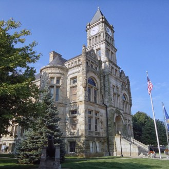 The Union County Courthouse in Liberty.