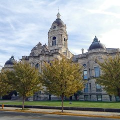 The former Vanderburgh County Courthouse in Evansville.
