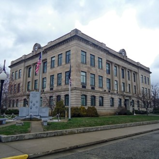 The Vermillion County Courthouse in Newport.