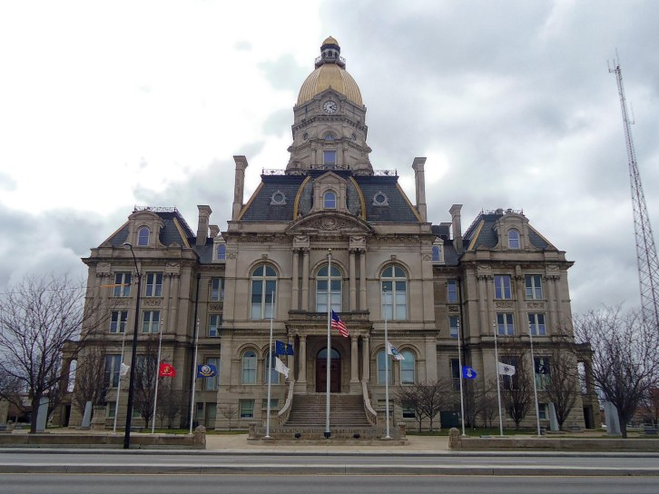 The Vigo County Courthouse in Richmond