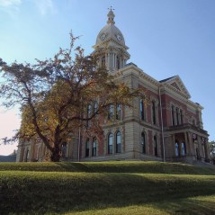 The Wabash County Courthouse in Richmond