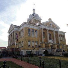 The Warrick County Courthouse in Boonville