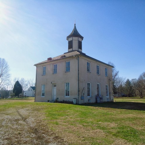 The old Perry County Courthouse in Rome.