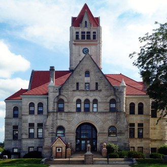 The Fulton County Courthouse.