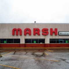 A former Marsh Supermarket in Irvington, Indianapolis.