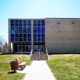 The Mecosta County Courthouse in Michigan