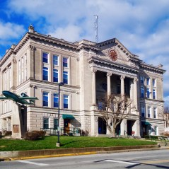 The Putnam County Courthouse.