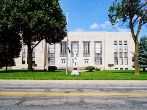 The 1937 Shelby County Courthouse